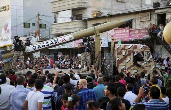 Qassam-A rocket